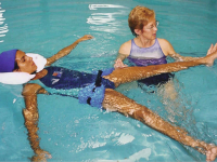 Improving hip and trunk stabilization for an athlete