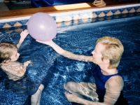 Increasing trunk and shoulder strength for a boy with spinal muscular atrophy